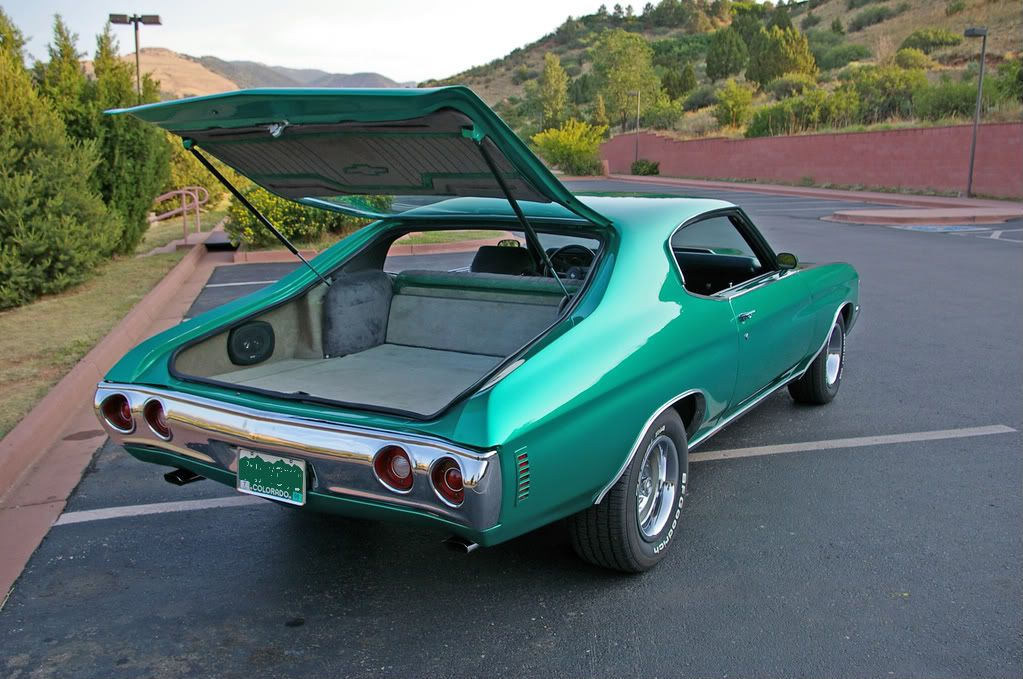 1972 Chevelle converted to a hatchback  | Chevelles