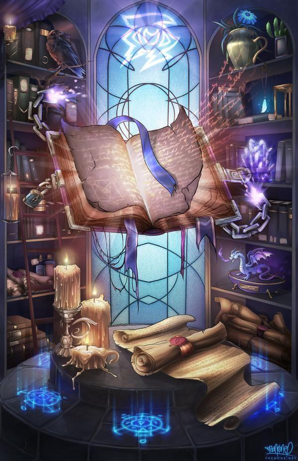 Spellbook of Knowledge by Freezadon on DeviantArt