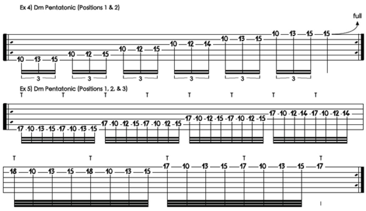 Combining Pentatonics with Tapping Guitar World Guitar