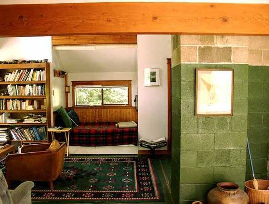 Christopher Alexander's A Pattern Language is full of the practical and poetic when it comes to thinking out your home's design. One thought from the book with regard to Bed Alcoves in tiny homes...