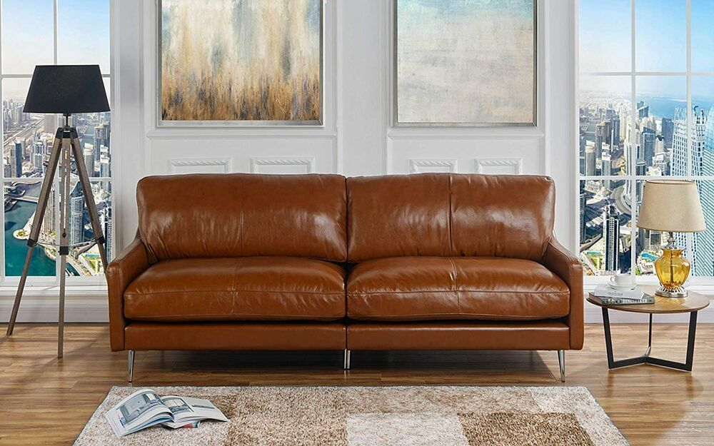 Presenting This New Addition To Our Contemporary Mid Century Style Sofa In Leather Match Uphol Leather Sofa Living Room Living Room Leather Best Leather Sofa