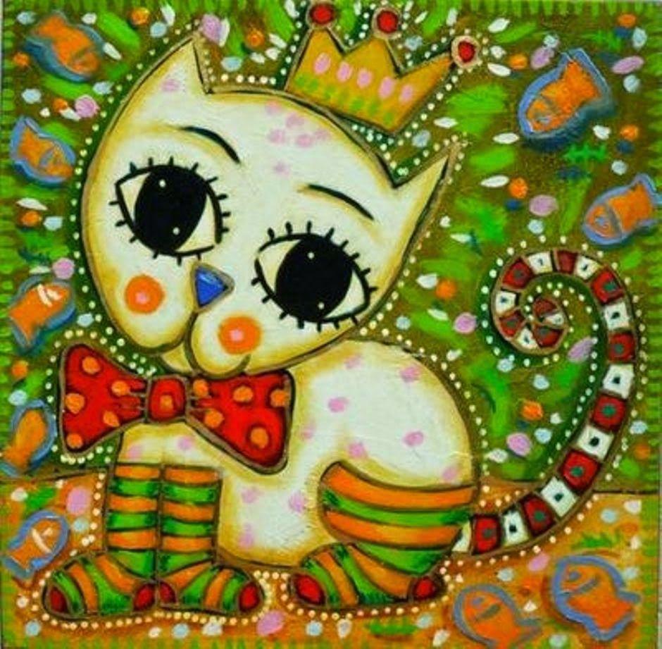 arte naif animales | PINTURA | Pinterest | Animales, Arte y Pinturas
