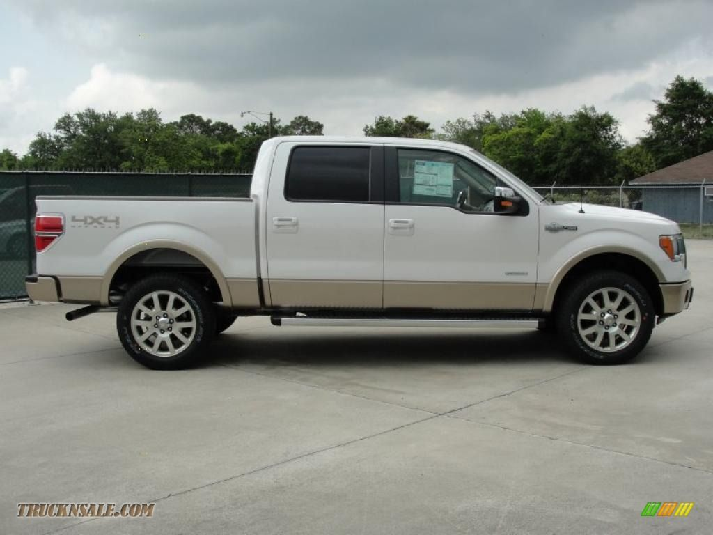 Ford Kingranch Trucks For Sale 2011 F150 King Ranch Supercrew 2004 F 150 4x4 In White Platinum Metallic Tri