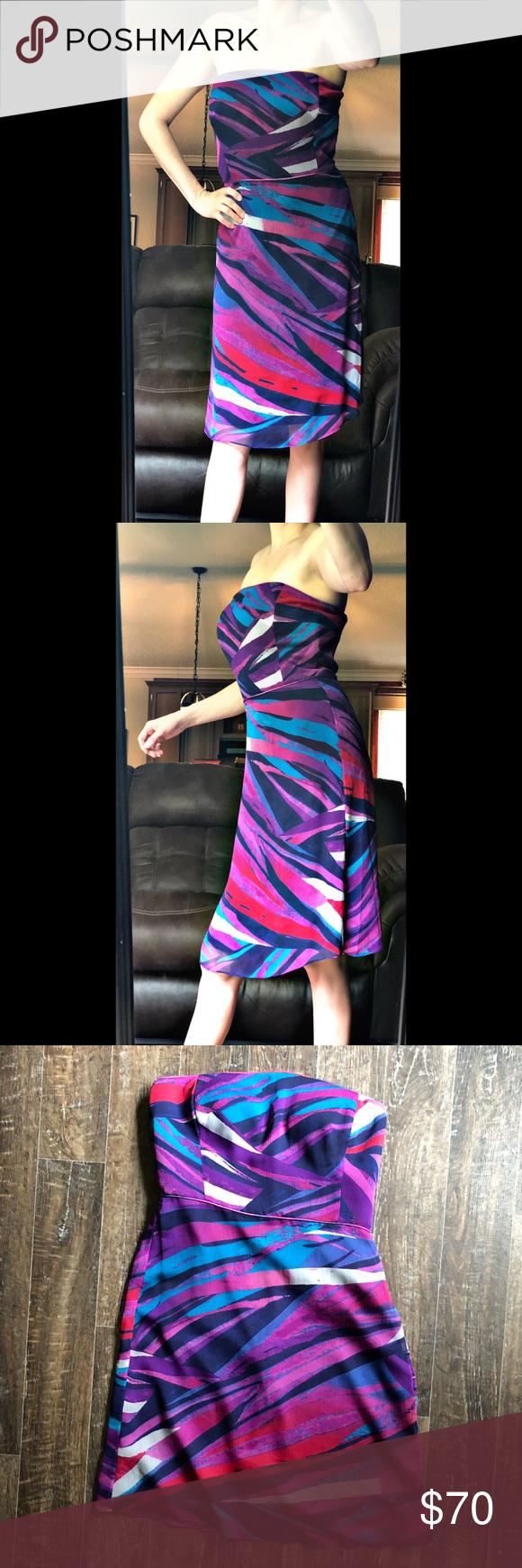 20b5f79dd5b84 Banana Republic Multicolored Dress Size 10