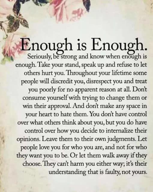 Enough Is Enough Best Sarcastic Quotes Words Sarcastic Quotes