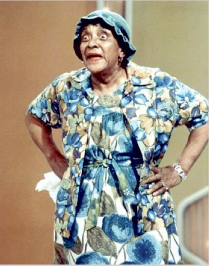 Moms Mabley, I remember her on the Merv Griffin Show!!  Adorable.