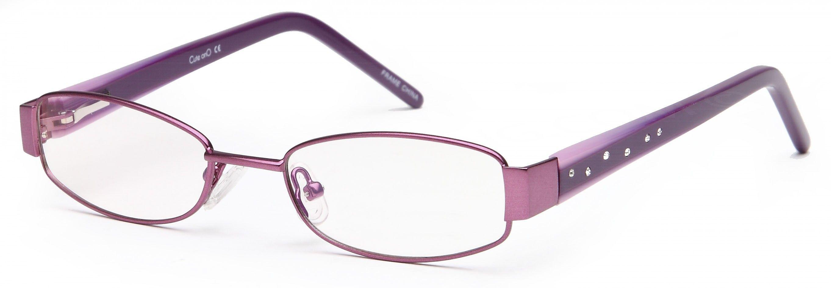 purple Glasses   ... Star Studded Prescription Eye Glasses Frames Rx ...
