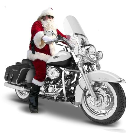 Motorcycle Santa Christmas Wallpapers Harley Davidson Wallpaper