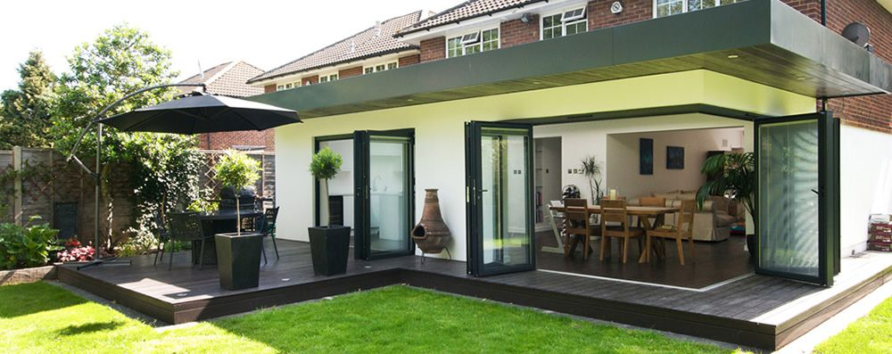 Building Services Flat roof extension, Roof extension