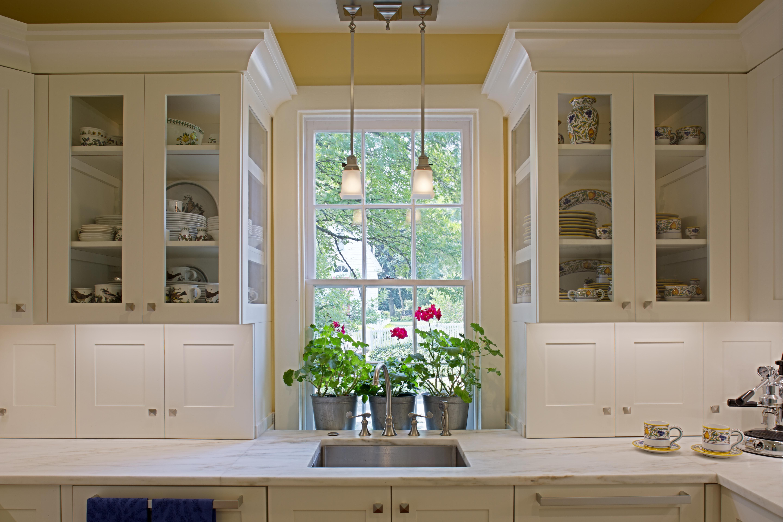 Kitchen design ideas | Glass kitchen cabinets, Interior ...