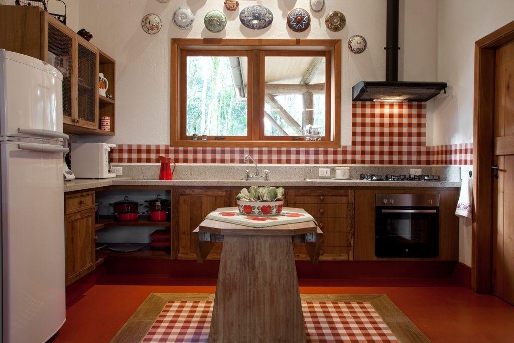 armários de alvenaria para cozinha estilo rustico - Pesquisa ...