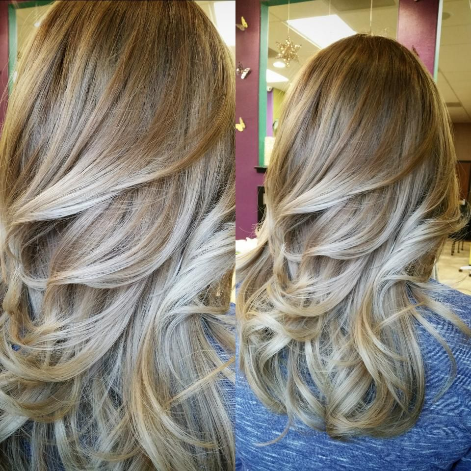 Crystal Ash Blonde Hair Color Ideas For Winter 2016: COLOR CORRECTION: A Mess To GORGEOUS Blonde Ash Sombre