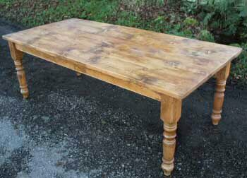 Farmhouse Dining Tables Authentic English Farmhouse Dining Table