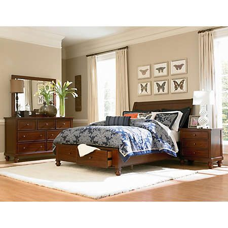 Attirant ... Graces The Wood Solids And Veneers That Make Up The Beautiful Avila  Collection. The Transitional Design Gives A Versatile Look To This Bedroom  Set.