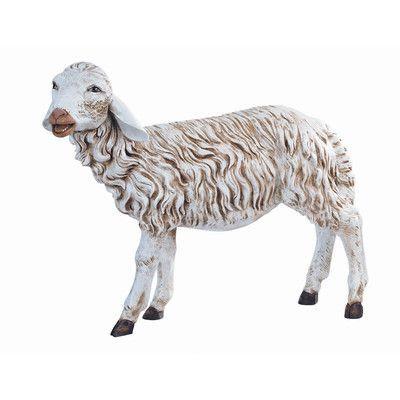 China Pure Silver Auspicious Lucky Wealth Animal Three Sheep Lamb Goat Statue