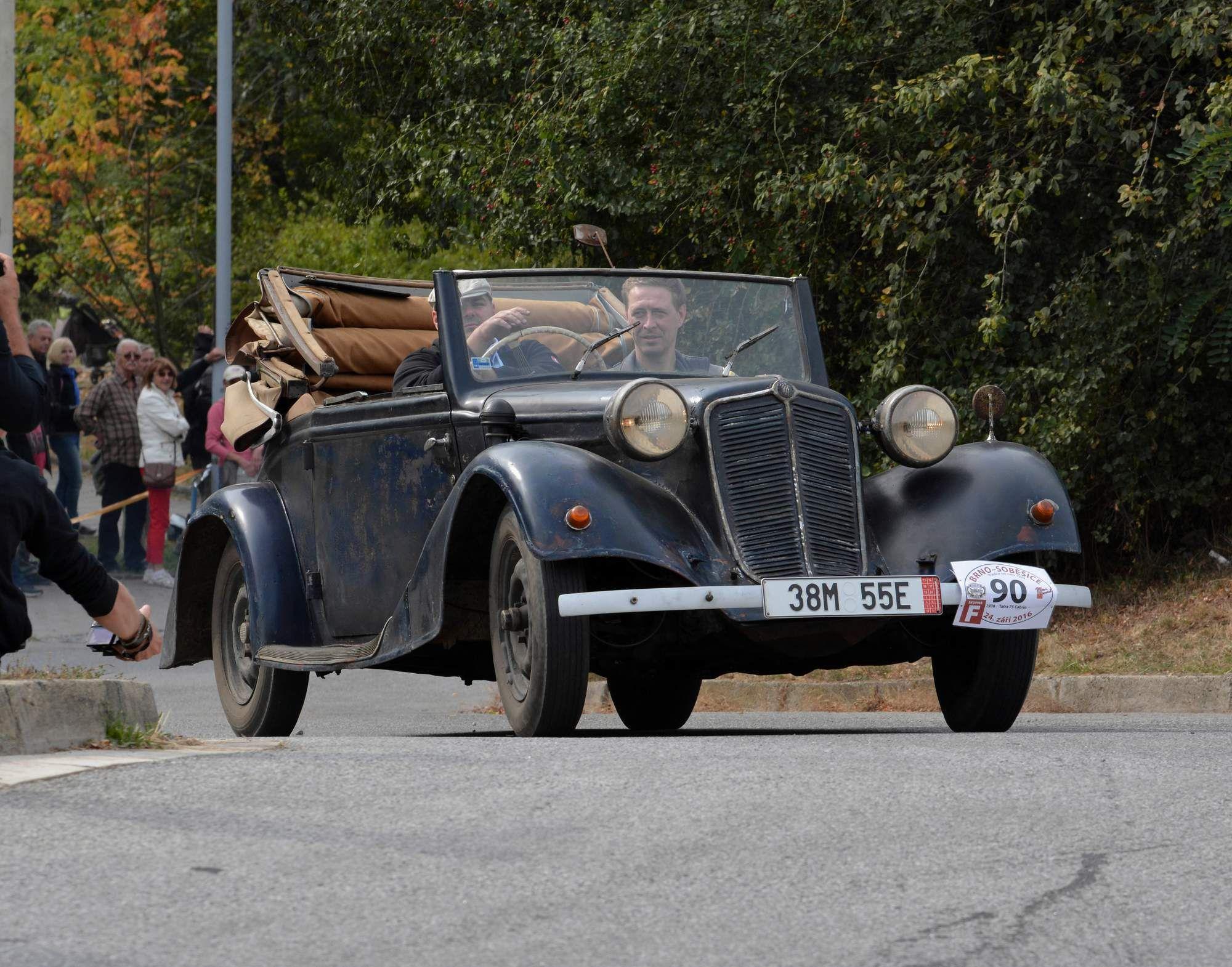 Tatra 75 Cabrio with patina | Czechoslovak Classic Cars ...