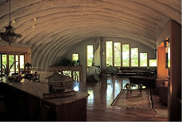 Quonset hut houses google search living small for Steel building homes interior