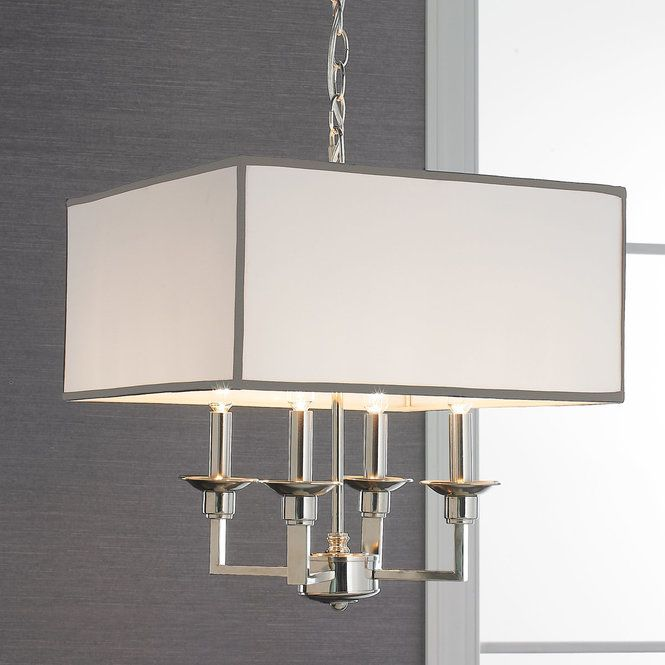 Times Square Shade Chandelier | Drum shade chandelier
