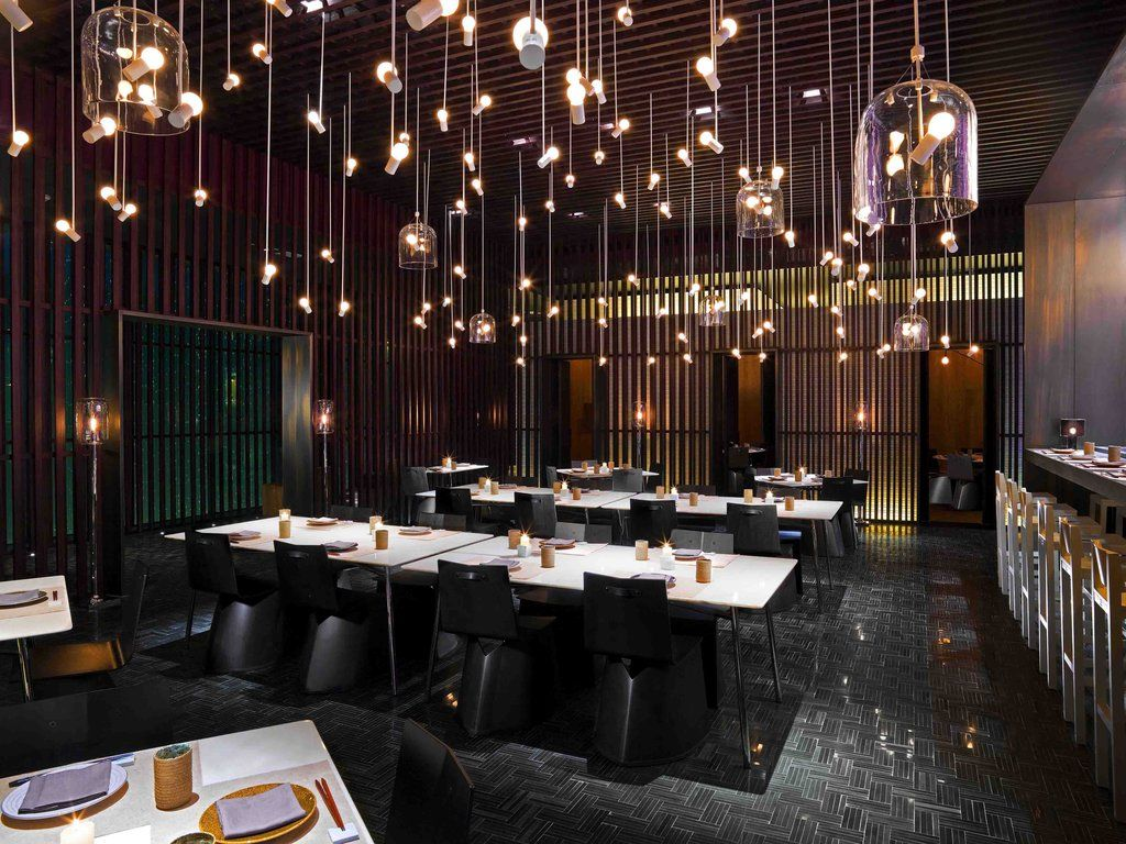 Design led oriental marvel is a modern classic modern for Restaurant dining room designs pictures