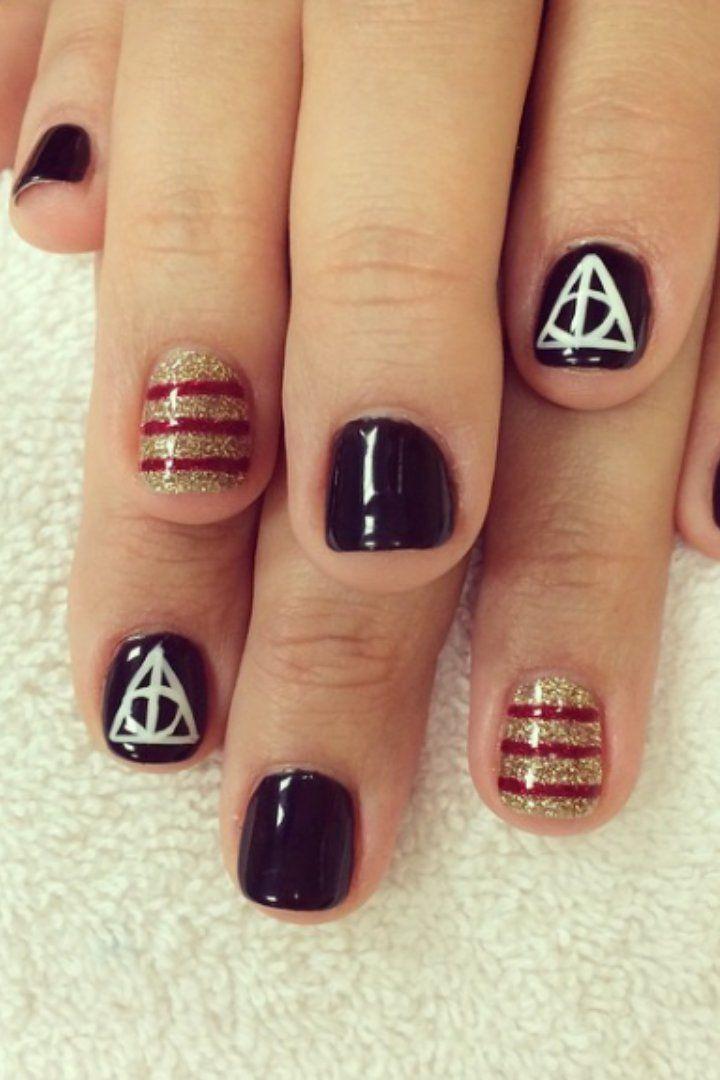 Pin for Later: 17 Manucures Harry Potter Qui Vont Vous Ensorceler