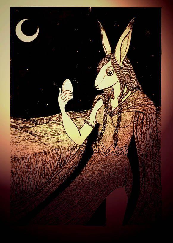 Resultado de imagen de rabbit gods moon