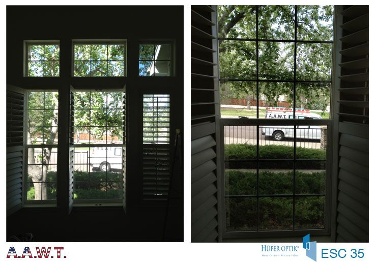 Huper Optik Energy Saver Ceramic 35 Used On These Home Windows In