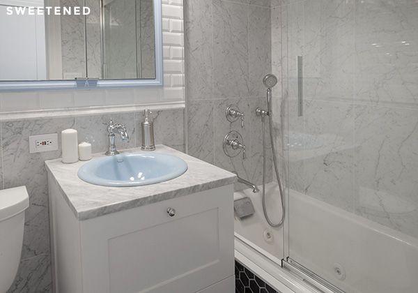 Before U0026 After: Robyn And Alejandrou0027s Brooklyn Bathroom Renovation U2013  Sweetened!