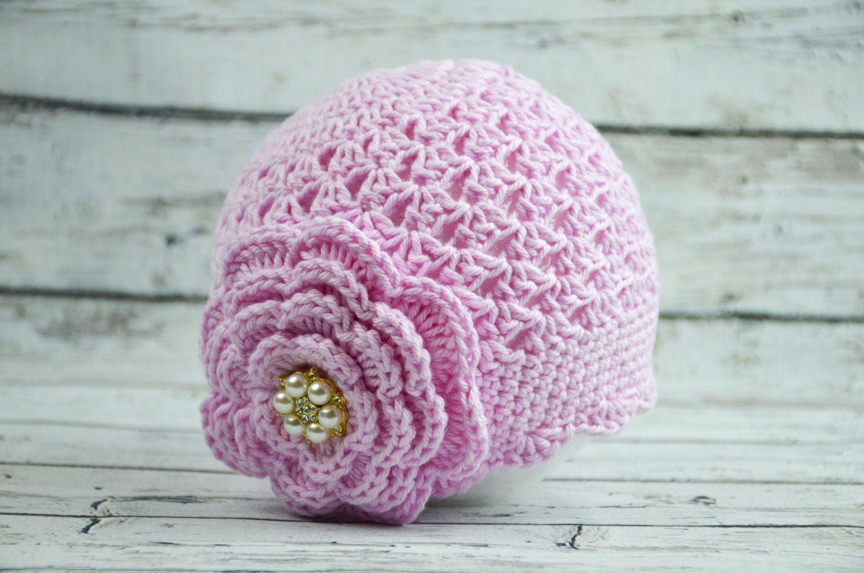 9d2b8a4fdb3 crochet baby girl hat