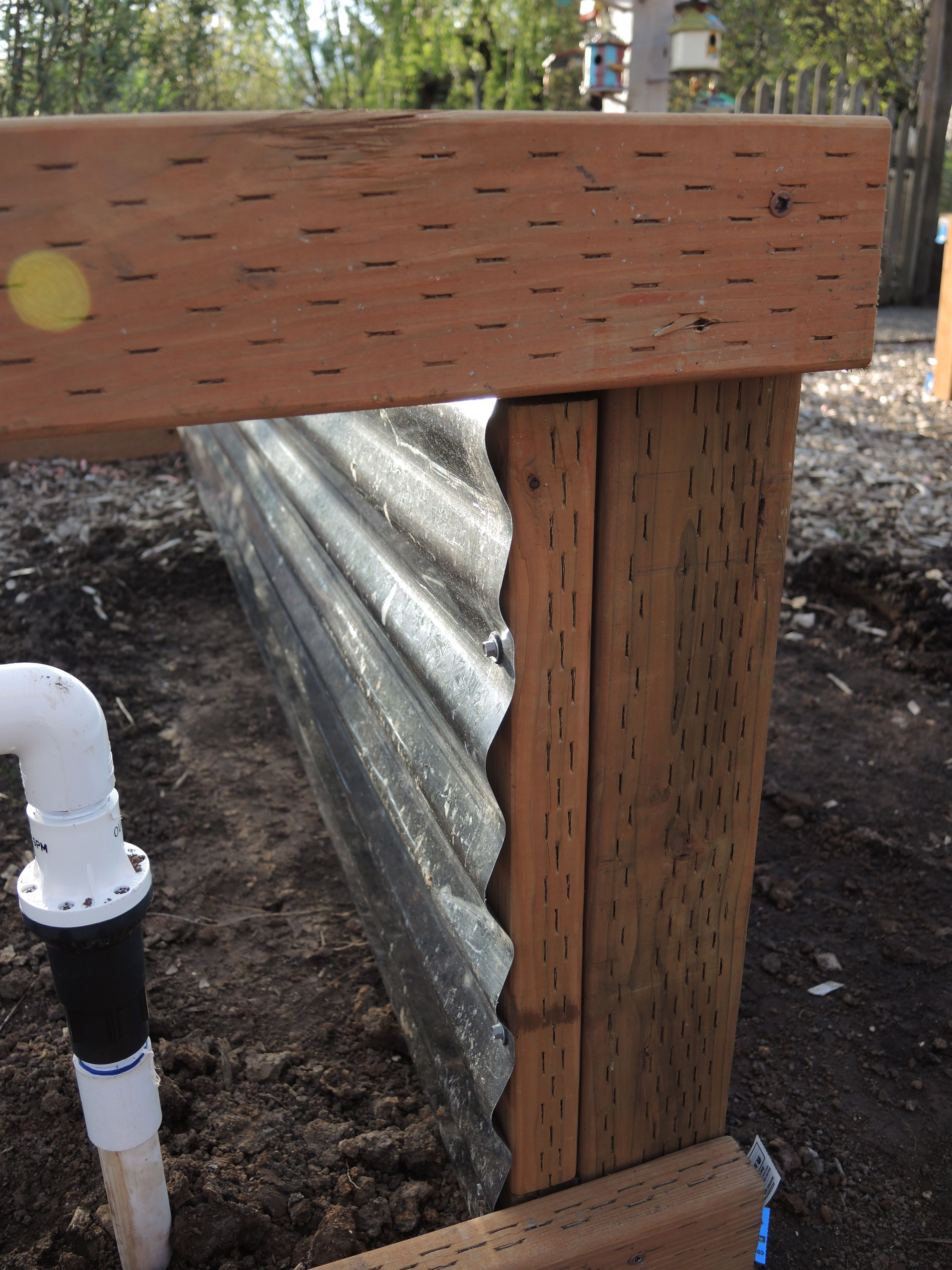 galvanized steel raised beds to instructions for