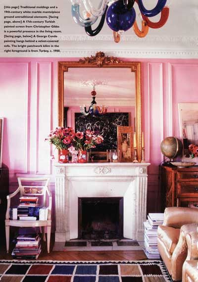 StyleFile #47: Think Pink For Decorating | Pink walls, Walls and ...