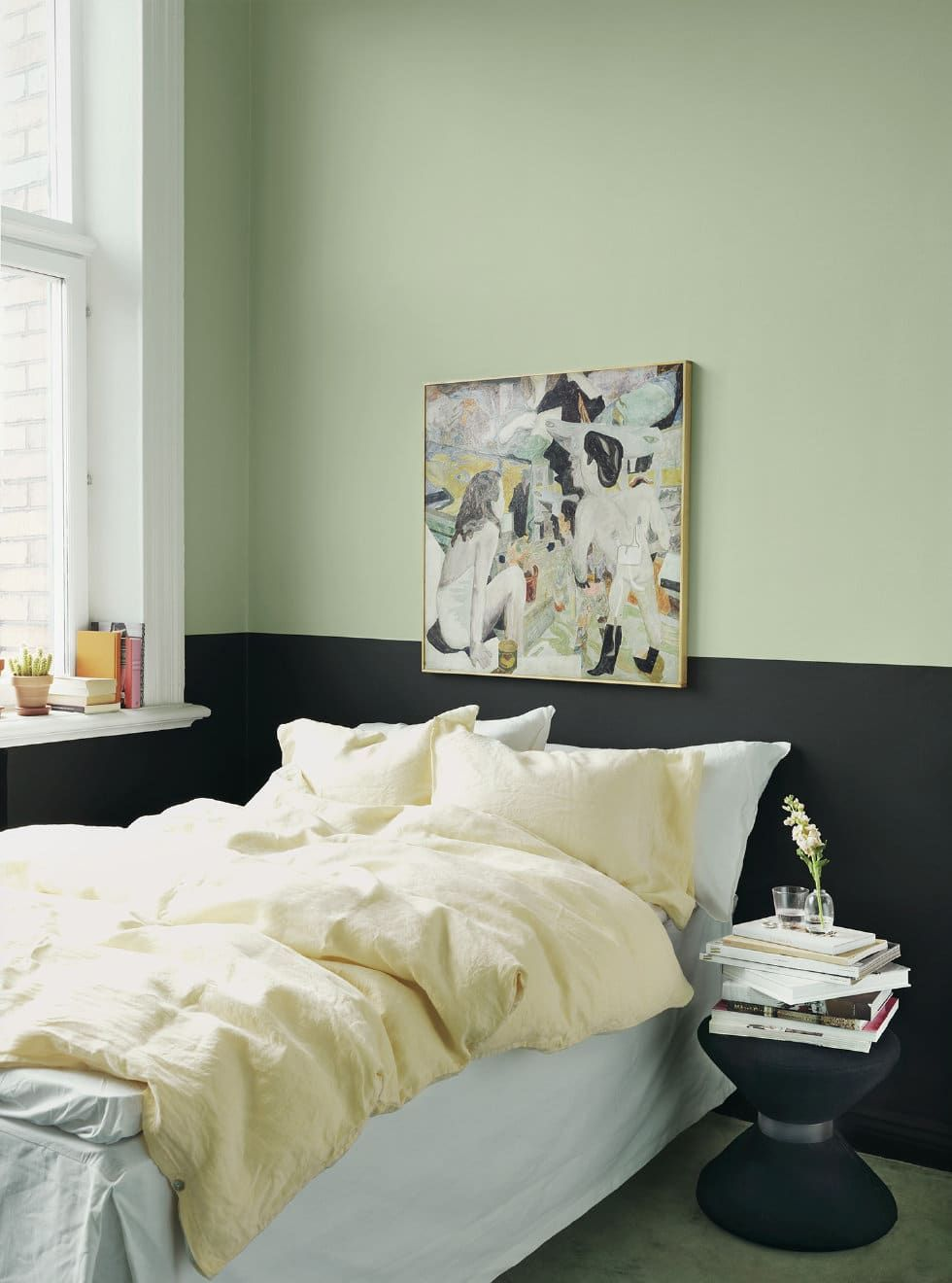 Half-Painted Walls Deliver All the Color, Without All the ...