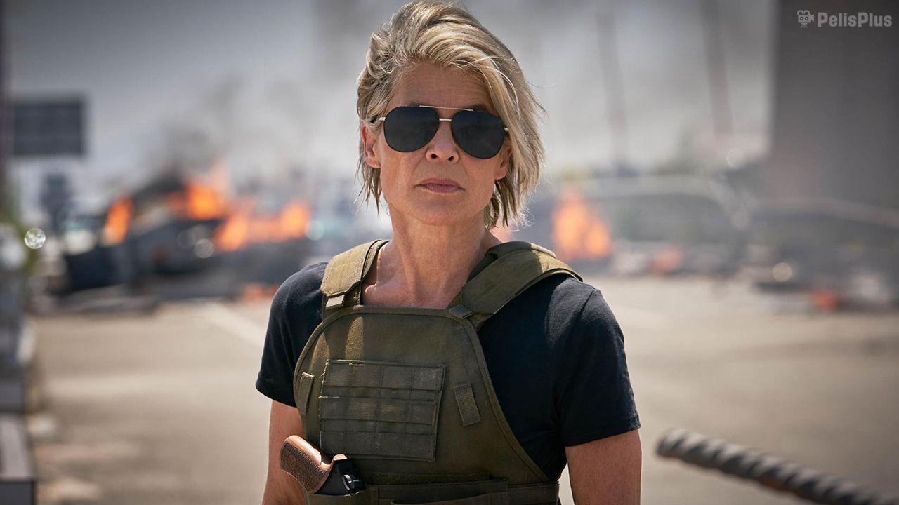 Ver Terminator 6 Destino Oculto 2019 Online Latino Hd Pelisplus Terminator Linda Hamilton Destino Oculto Cine