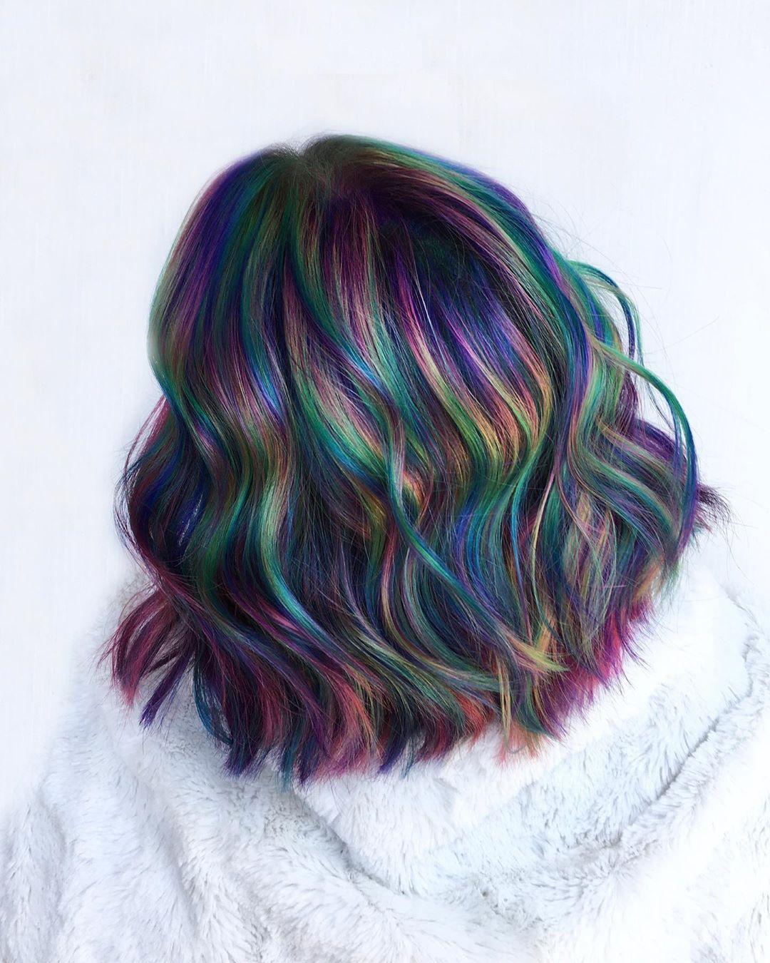 "The Rainbow Hair Artist on Instagram ""2 massive changes"