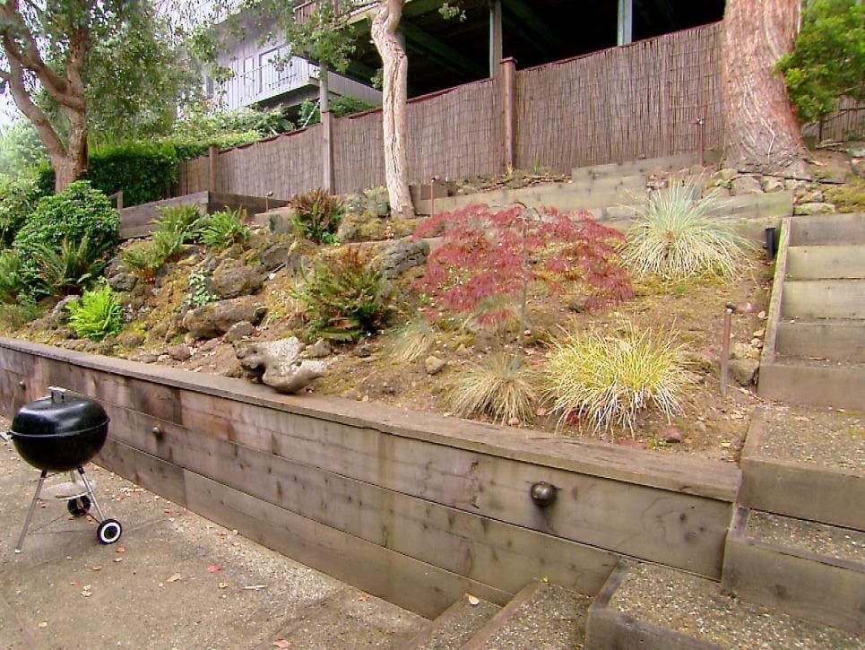 Steep Terrain, Beautiful Makeover | Backyard landscaping ...