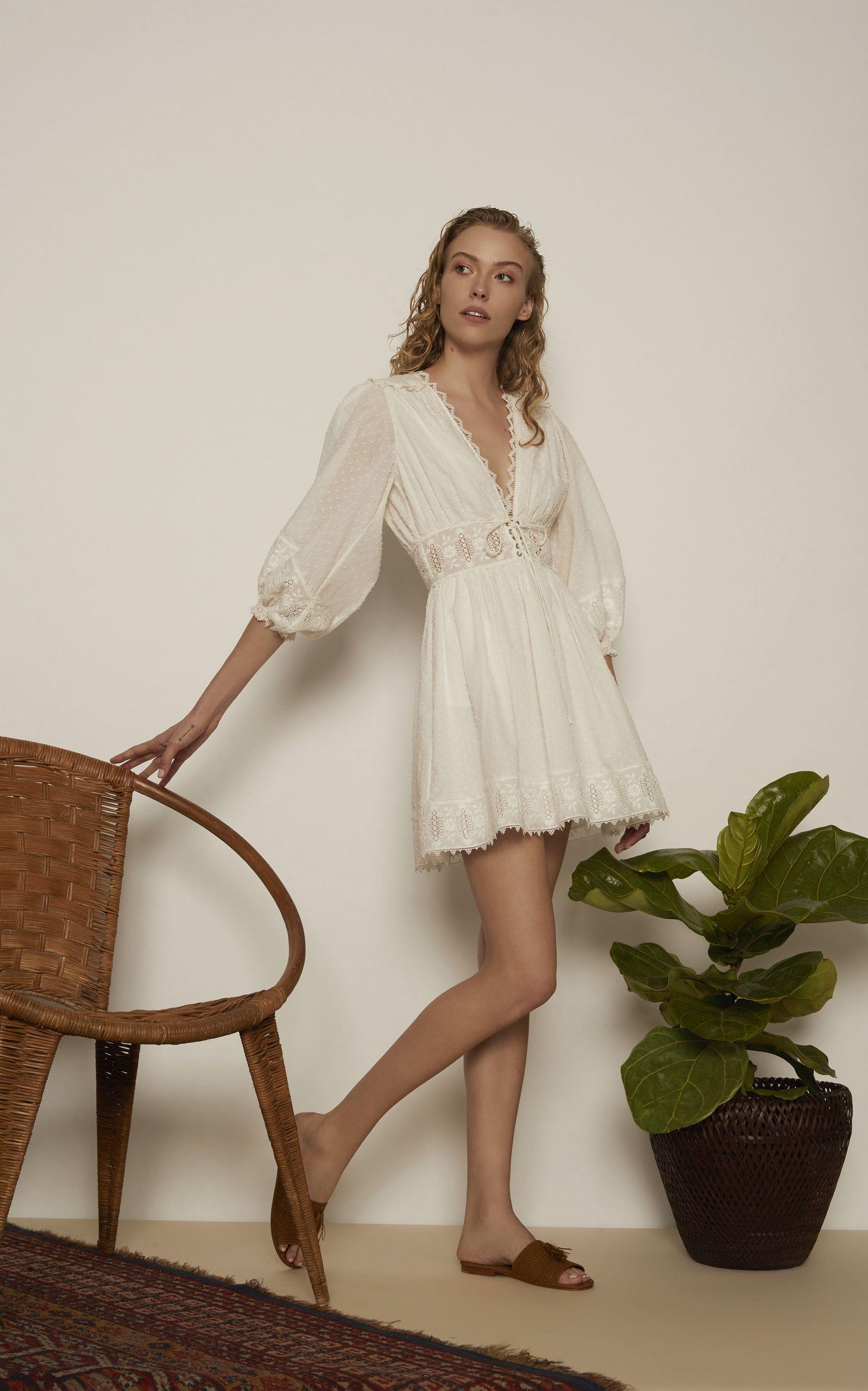 56f89ea31526 Iris Mini Corset Dress by ZIMMERMANN for Preorder on Moda Operandi