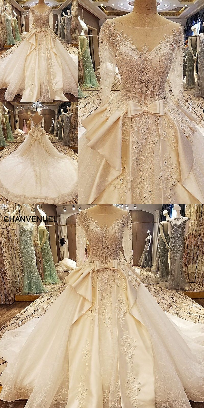 LS97543 elegant China bridal gowns beading ball gown corset back ...