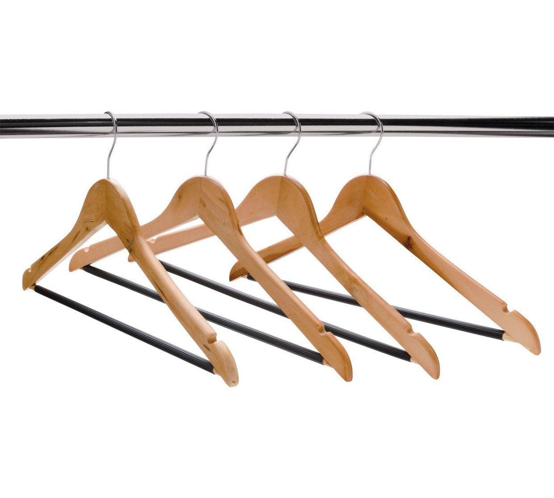 10 Strong Metal Clip Rack Clothes Hangers Coat Waistband Trouser Skirt Pants UK