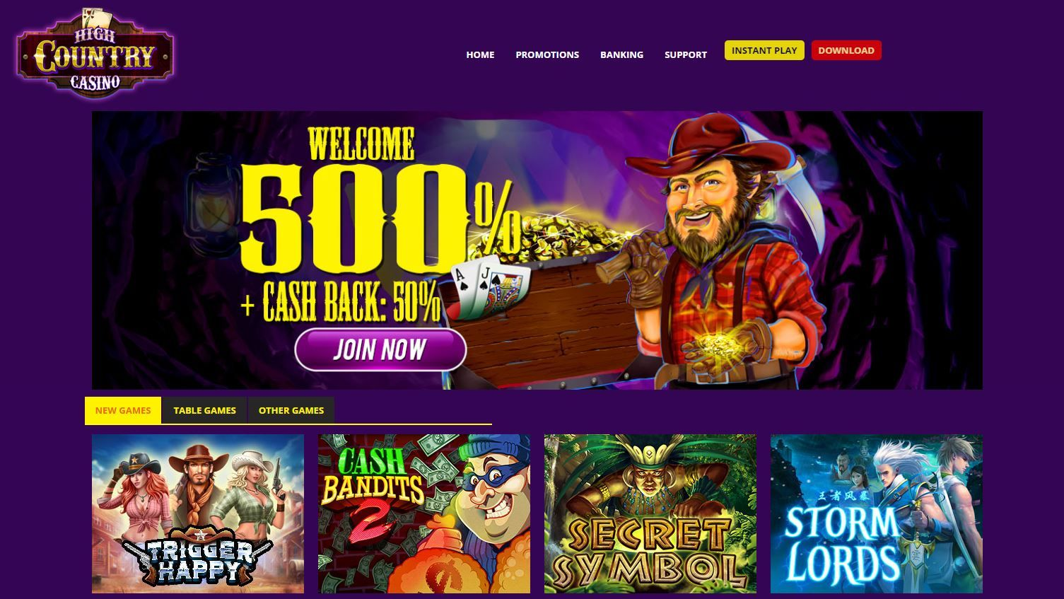 Latest High Country Casino Bonus Codes Casino Bonus Free Slots