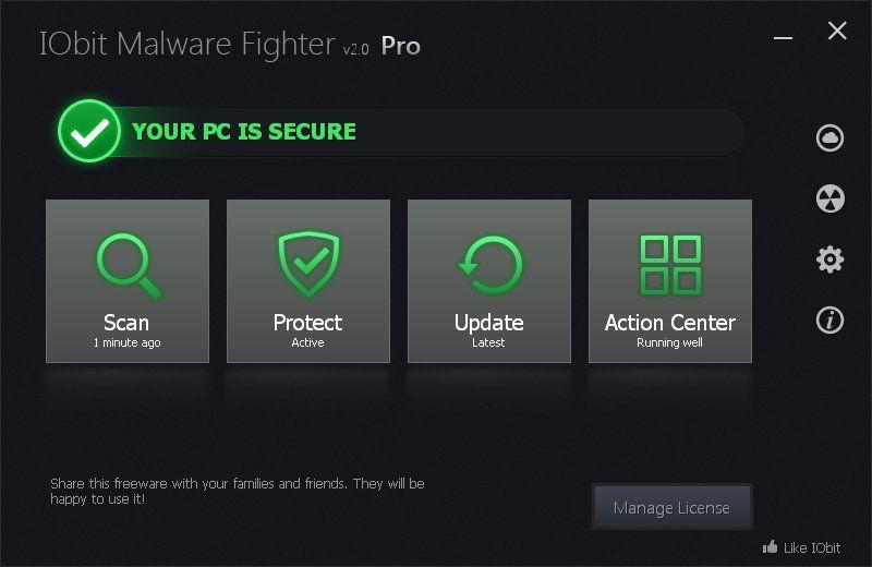 key iobit malware fighter 5.2 pro