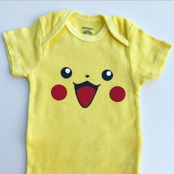 7a7d66899 Pikachu Onesie / Baby Pikachu / Anime Onesie | Products | Anime ...