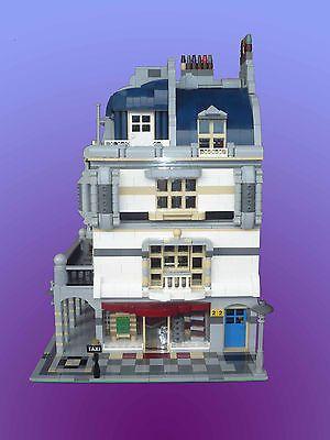 Lego Moc Custom Modular Rivoli Arcade Corner Right Instructions