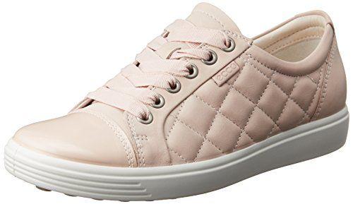 Neue ECCO Womens Soft 7 Trend Tie Damen Sneaker, ECCO