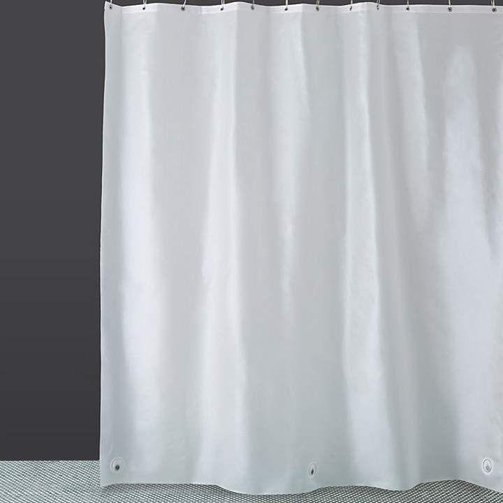 Interdesign Peva 10 Translucent Shower Curtain Liner Curtains