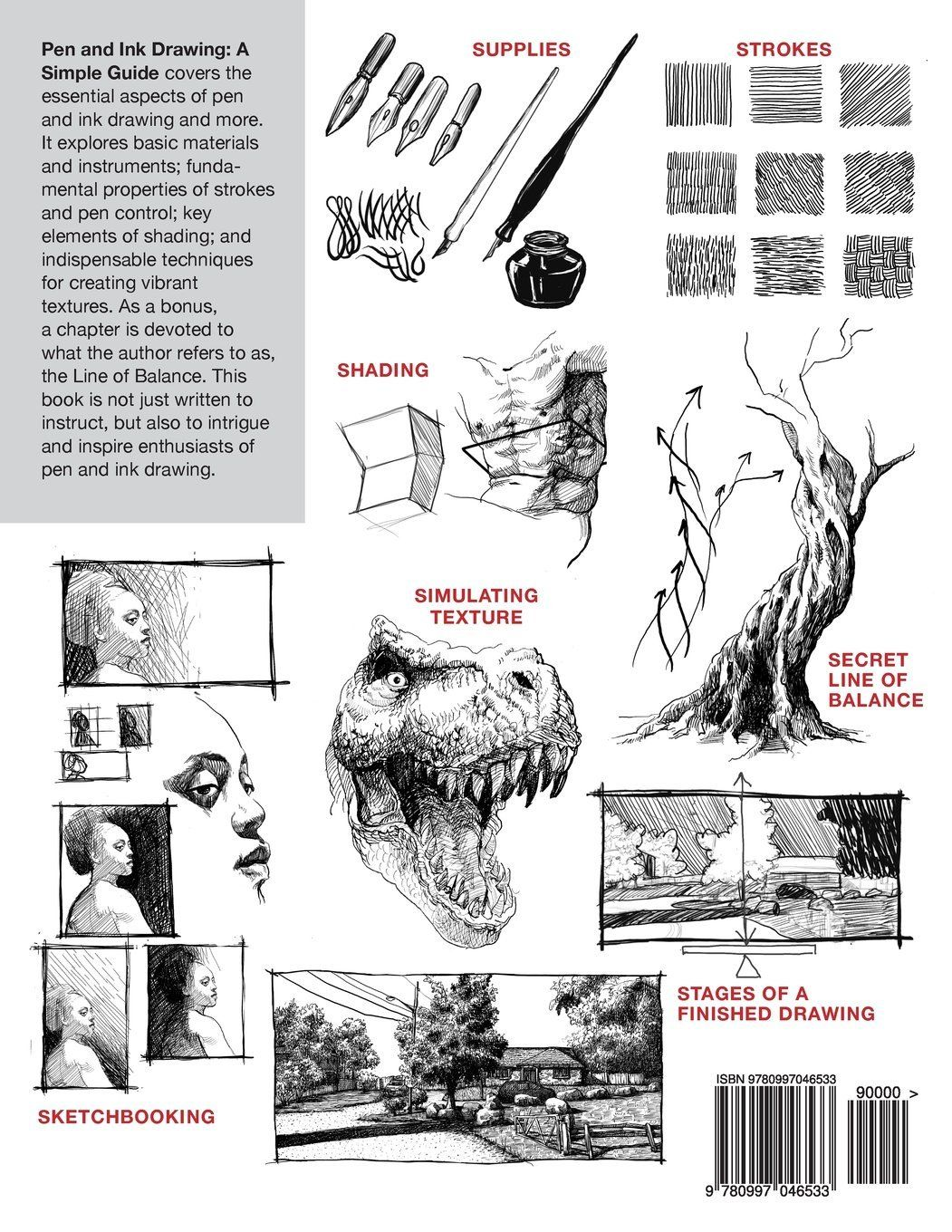 Check Out The Secrets To How I Improved My Ink Drawings