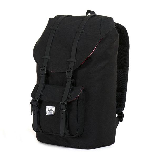 f1c0d98a0e09 Matte black details. Little America Backpack