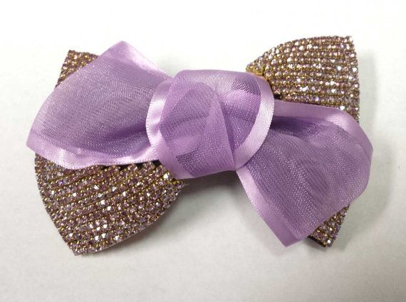 Fashion Rhinestone Bowknot Butterfly Barrette Hair Clip por Zabric, $4.69