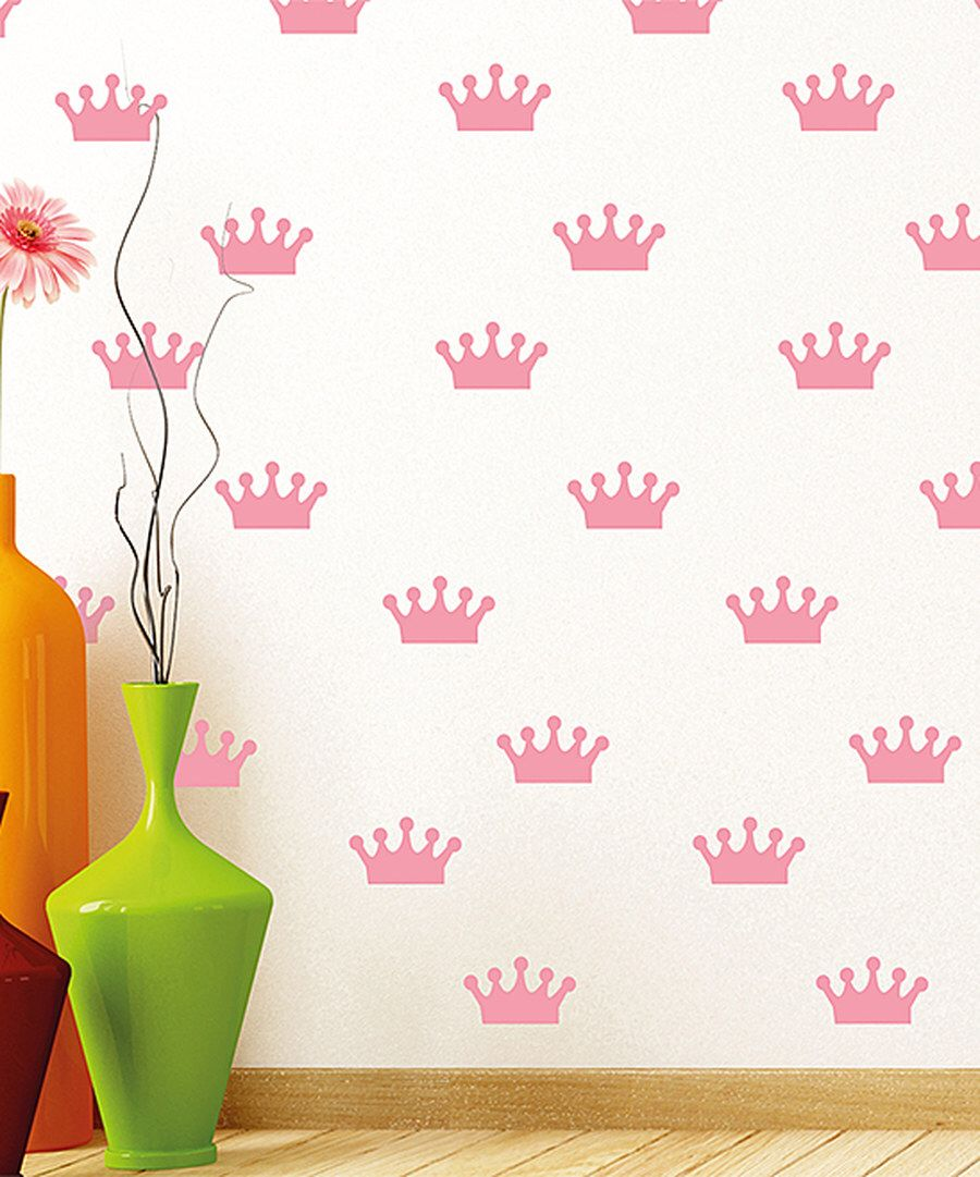 Look at this Crowns Wall Decals on #zulily today!