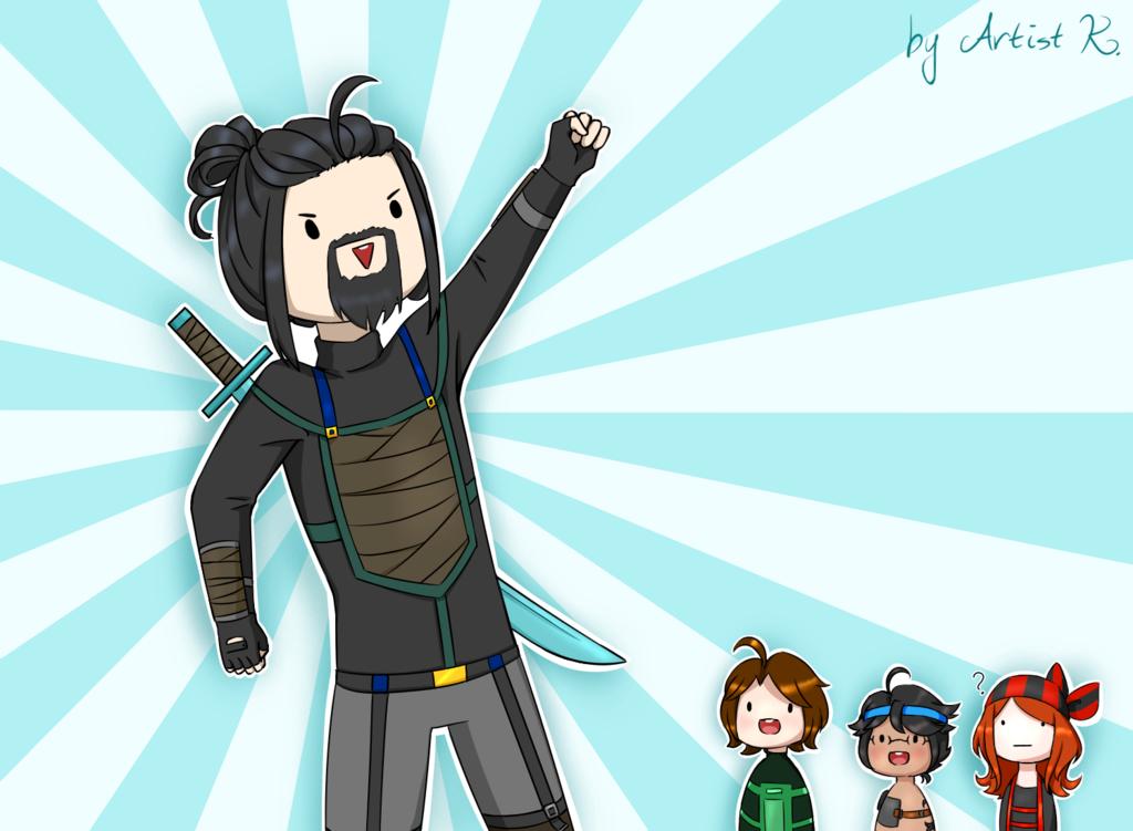 Ninja Ivor By Artistkamie Minecraft Fan Art Minecraft Comics