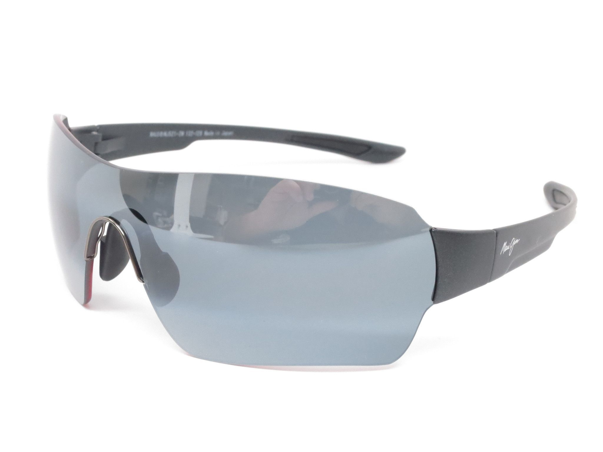 6290cff3157 Maui Jim Night Dive MJ 521-2M Matte Black Polarized Sunglasses ...