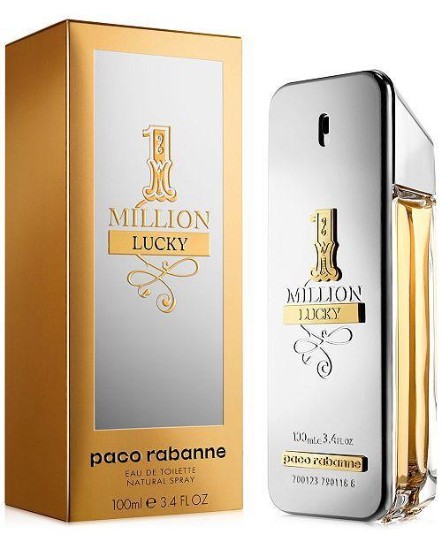 Paco Rabanne Men's 1 Million Lucky Eau de Toilette Spray